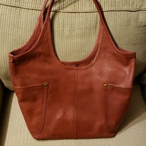 Frye Bags - Frye Tote with matching wallet.